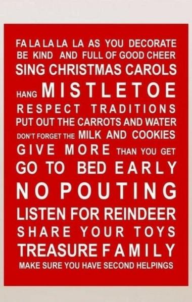 christmas mantra