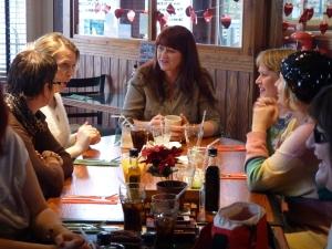 Shine Dorset Lunch Feb 2013