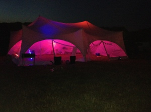 shine camp marquee
