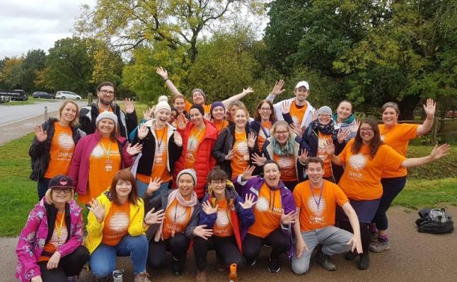 Shine Escape ready for fundraising walk